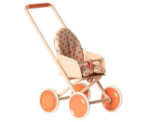 Stroller, Micro - Soft corall (Maileg)