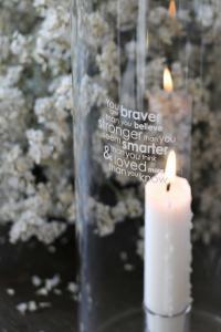 Maja, Braver - Ljuslykta i klarglas