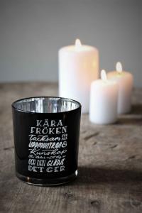 Maja, Kära Fröken inkl gåvobox (svart/silver)