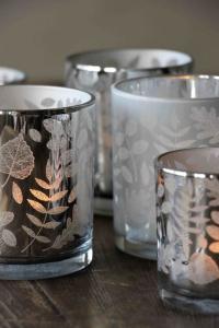 Majalykta Crispy Leaves Silver 7X8 cm - Majas Cottage (beräknas komma i augusti)