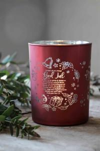 Majalykta God Jul Recept Röd, Silver - Majas Cottage (beräknas komma i oktober)