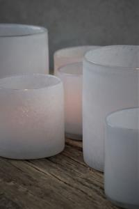 Majalykta Lumiere White Frost 8,5X8 cm - Majas Cottage (beräknas komma i november)