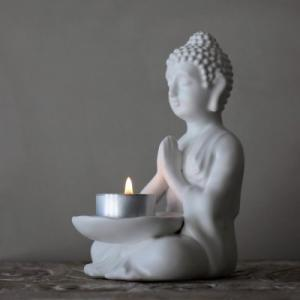 Maja - Buddha ljuslykta