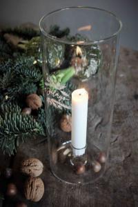 Maja, Julmys - Ljuslykta i klarglas