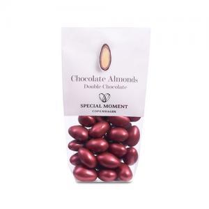 Mandlar BORDEAUX - Mörk och vit choklad med mandel