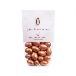 Mandlar BRONS - Vit choklad med mandel