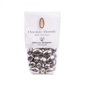 Mandlar SILVER - Ljus choklad med mandel