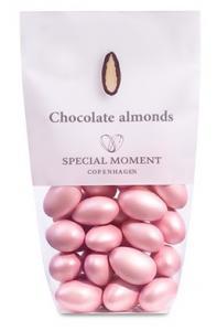 Mandlar ROSA - Vit choklad med mandel