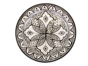 Marrakech fat handmålat Ø35 cm - Chic Antique