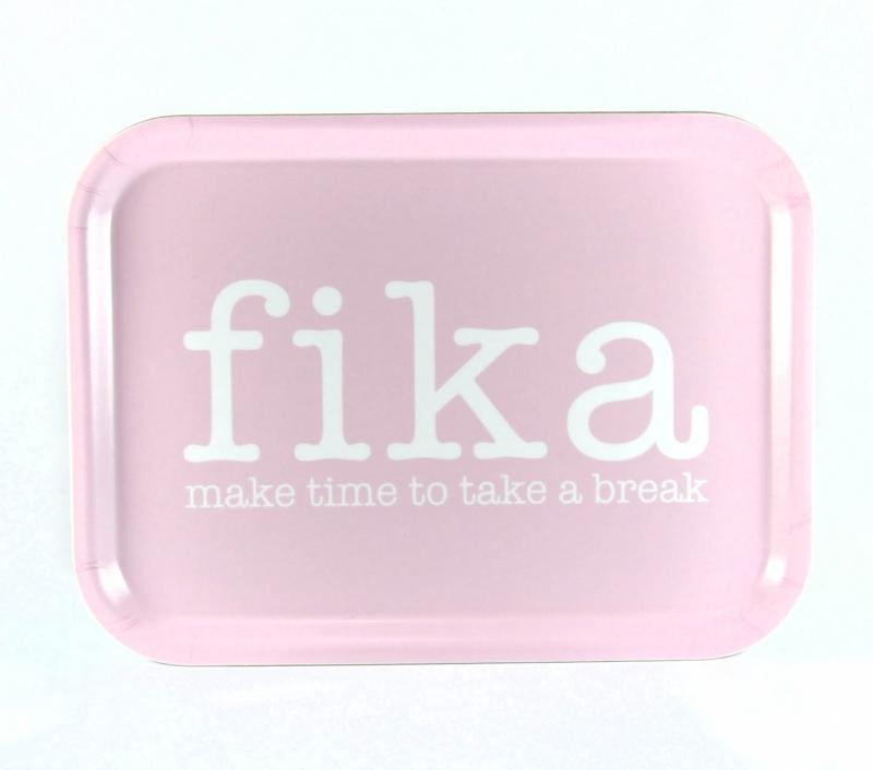 Bricka: FIKA - Mellow Design (rektangulär)