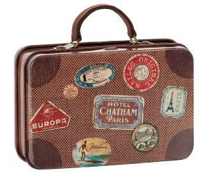 Metal Suitcase, Brown Travel - Maileg