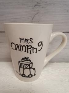 Mrs camping (husbil) - Mugg från Lyckliga L8