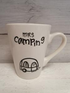 Mrs camping (husvagn) - Mugg från Lyckliga L8
