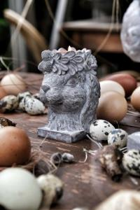 Maja - Ms Floral Bunny ljushållare (Förboka lev februari/mars)
