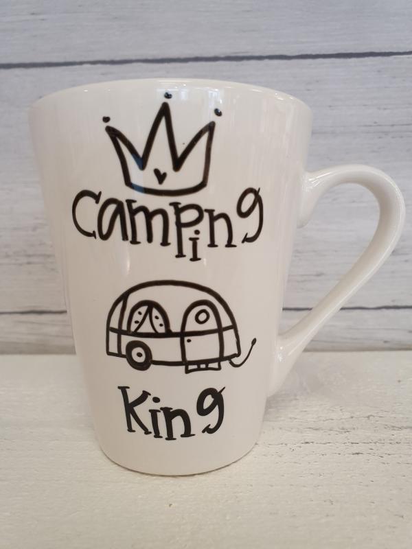 Camping King (husvagn) - Mugg från Lyckliga L8
