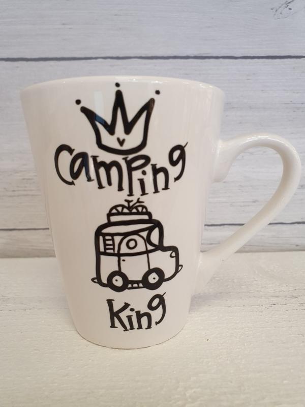 Camping King (husbil) - Mugg från Lyckliga L8
