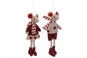 Mus pojke hängande Vinröd/Mullvad - A lot