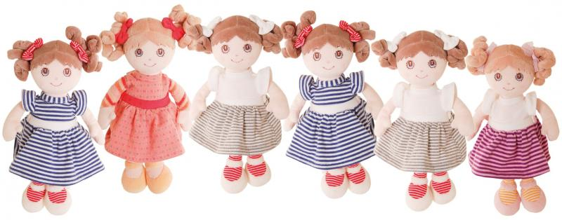 Bukowski - My little Doll- Rosa/lila-randig klänning