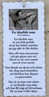 Diktkort - En idealisk man