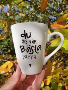 Du är vår bästa pappa - Mugg från Lyckliga L8