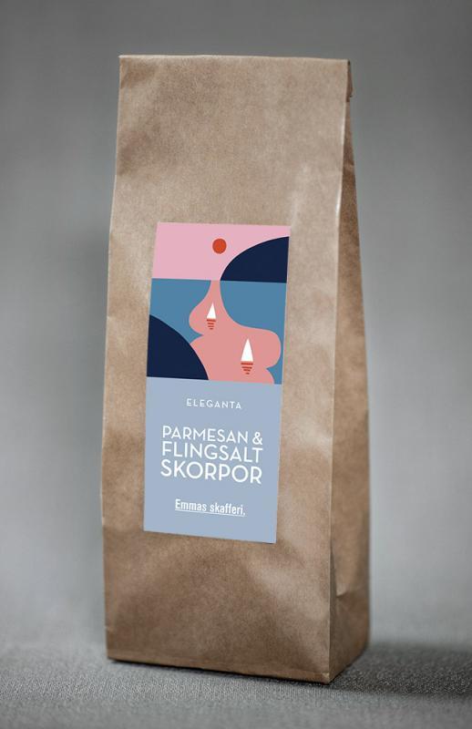 Parmesan & flingsalt, skorpor - Emmas Skafferi