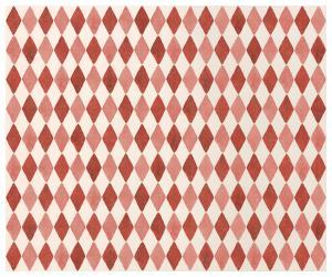 Presentpapper Harlequin röd, 10m - Maileg