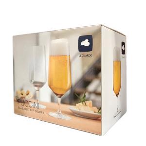 PUCCINI Ölglas - 6 Pack i stöttålig Teqton - Leonardo