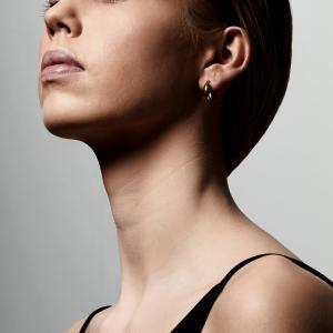 Örhänge - Magda, Guldpläterad - Pilgrim
