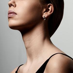 Örhänge - Magda, Silverpläterad - Pilgrim