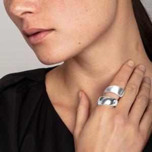 Ring Alma Silverpläterad – Pilgrim