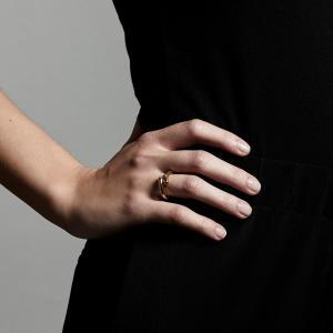 Ring, Mago, Guldpläterad - Pilgrim