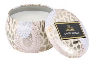 Voluspa Decorative Tin Candle - Santal Vanille (doftljus)