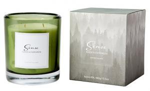 Doftljus, Sense - Suede & Evergreen