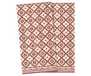 Servett, mosaik Liten - röd - Maileg     LEV NOV/DEC