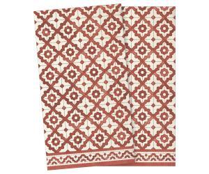 Servett, mosaik stor - röd - Maileg     LEV NOV/DEC