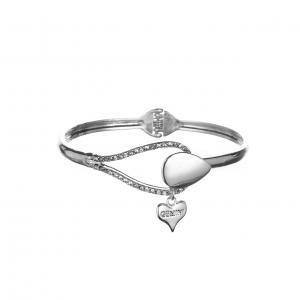 Armband, Stelt armband med strass-stenar - Gemini
