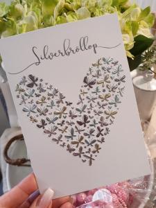 Silverbröllop, kort från Pictura