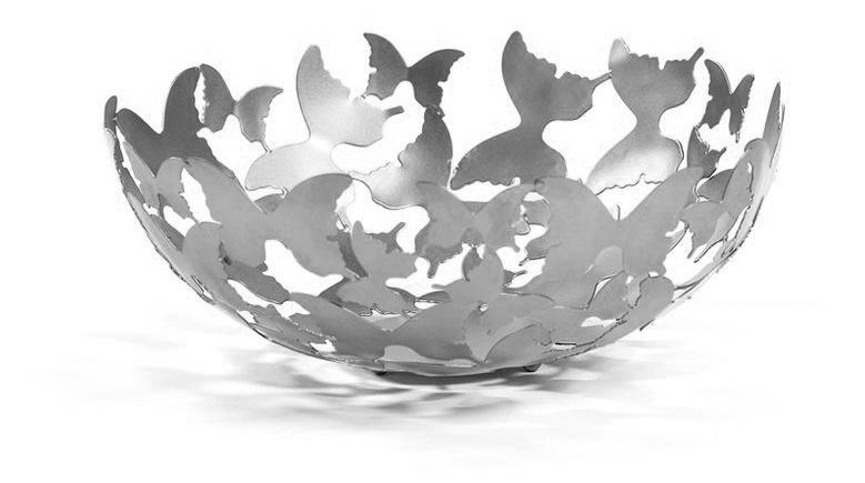 Skål Butterfly Silver, Carolina Gynning
