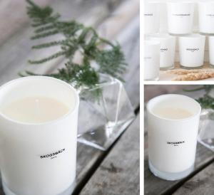 Skogsbäck, Doftljus  Vit - Storefactory