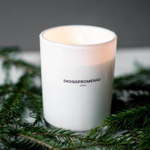 Skogspromenad, Doftljus  Vit - Storefactory