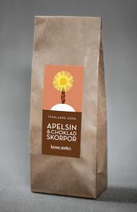 Apelsin & choklad skorpor - Emmas Skafferi