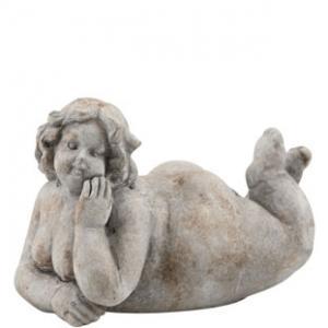Liggande staty Edita (Miljögården)