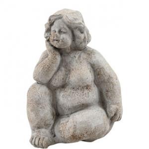 Sittande staty Edita (Miljögården)