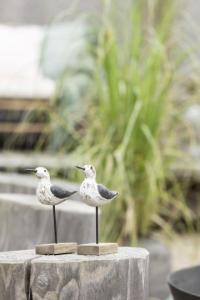 Strandfågel på pinne - Ib Laursen