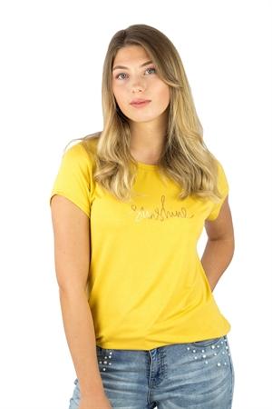 Sunshine T-Shirt Barnfonden Sun Yellow - Capri Collection