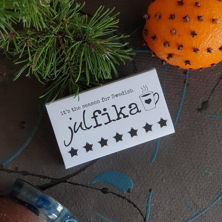 Tändstickor, SWEDISH JULFIKA - Erika Tubbin