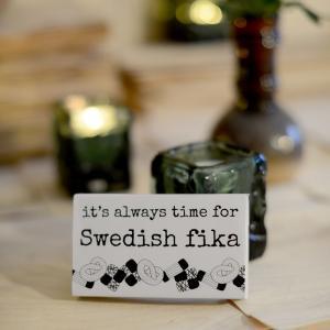 Tändstickor, SWEDISH FIKA - Erika Tubbin