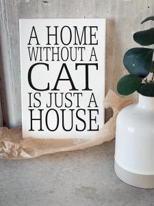 Tavla, A home without a cat... (A5) - Mellow Design