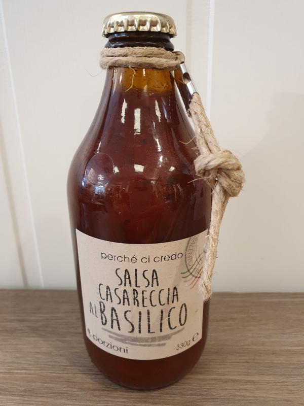 Tomatsås med basilika