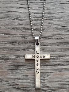 Halsband, Love Hope (kors) - Smolk